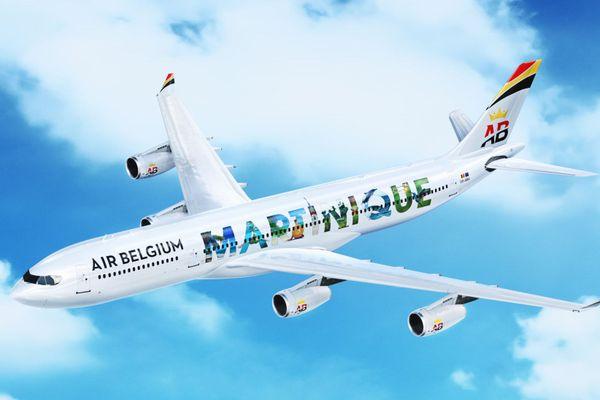 Air Belgium  martinique
