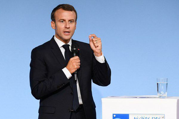 Emmanuel Macron Assises des Outre-mer