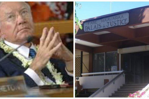 Gaston Flosse justice