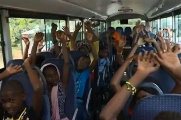 Campagne de sensibilisation aux accidents de la route auprès des élèves
