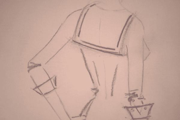 Création de la robe pour Miss SPM