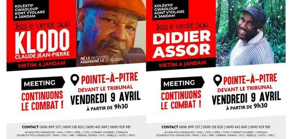 Jistis pou Claude Jean-Pierre et Didier Assor