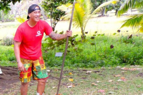 Vetearii Rupea était jardinier au Musée de Tahiti et des Îles.