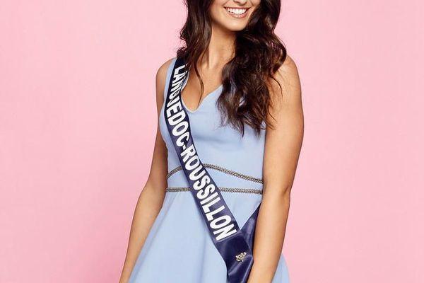 Lola Brengues, 19 ans, Miss Languedoc-Roussillon