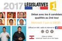 Législatives : débat avec les 6 candidats qualifiés mercredi 7 juin