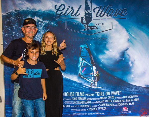 Photo Sarah Hauser windsurf documentaire