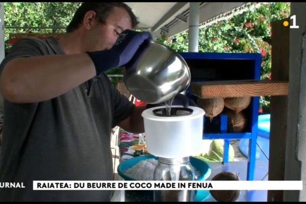 De l'huile de coco vierge 100% « made in Raiatea »