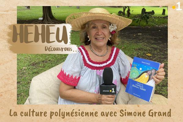 Heheu : la culture polynésienne avec Simone Grand