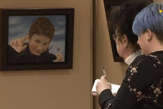 Michèle Foliot expose au musée de l'Arche à Saint-Pierre