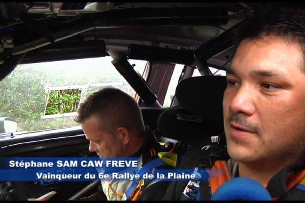 Rallye .1 - Stéphane Sam Caw Freve, vainqueur du 6ème rallye de la Plaine