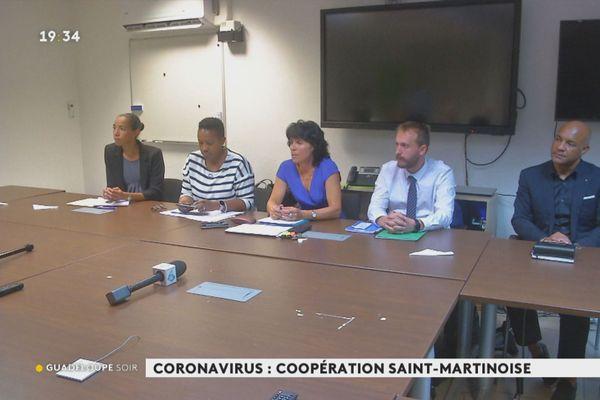 Saint Martin et Sint Maarten ensembele contre le coronavirus