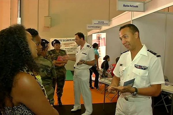 Forum des métiers de la défense