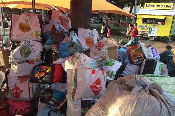 Houaïlou : collecte de vêtements