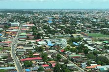 Paramaribo, capitale du Suriname