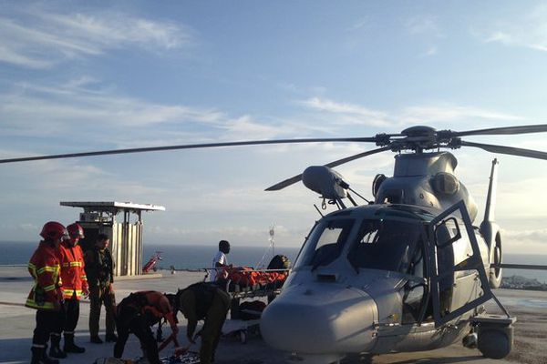 Hélicoptère Panther du Nivôse