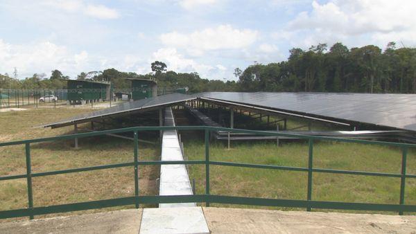 Une nouvelle centrale solaire voit le jour à Montsinéry-Tonnégrande