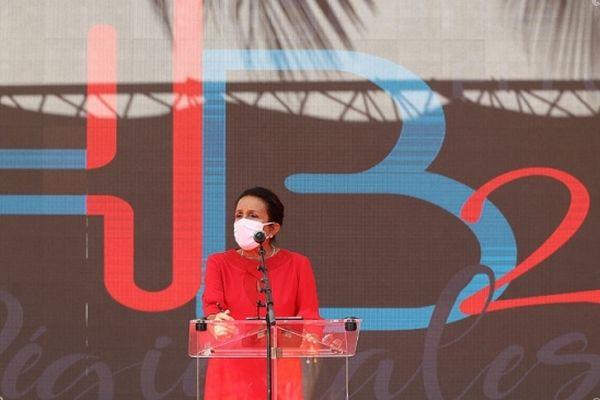 Huguette Bello dévoile son programme et ses ambitions pour La Réunion.