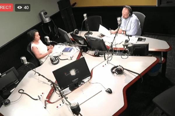 Studio radio Réunion 1ère