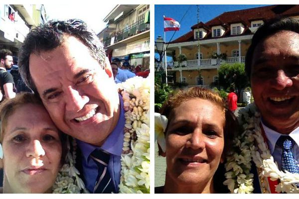 selfie élus dominique