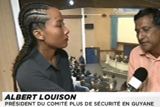 Albert Loison président du comité plus de sécurité en Guyane
