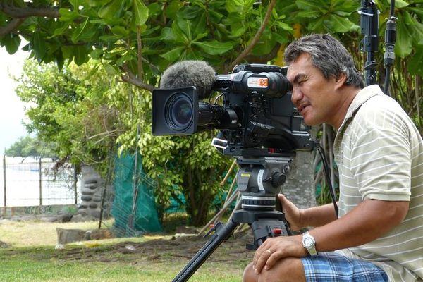 Laurent Gerra au Méridien à Tahiti, interviewé par Lolo pour Polynésie 1ère 8