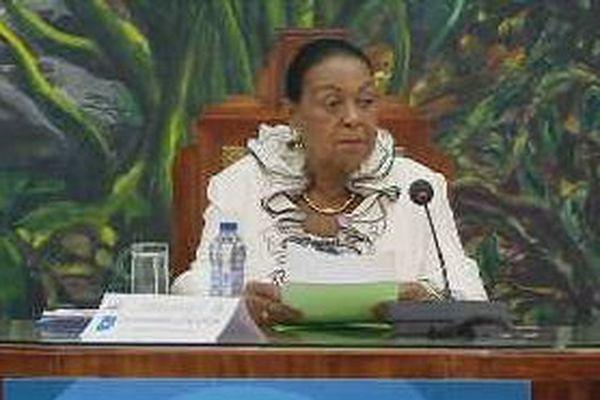 Josette Borel-Lincertin, pdte du Congrès