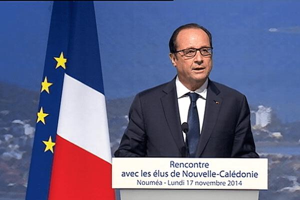 Discours de François Hollande au Centre Culturel Tjibaou
