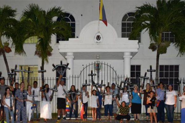 Manifestation à la Barbade