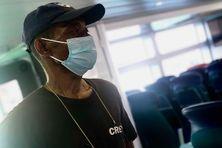 Odilon, un marin malgache bloqué à La Réunion depuis un an en raison de la crise sanitaire.