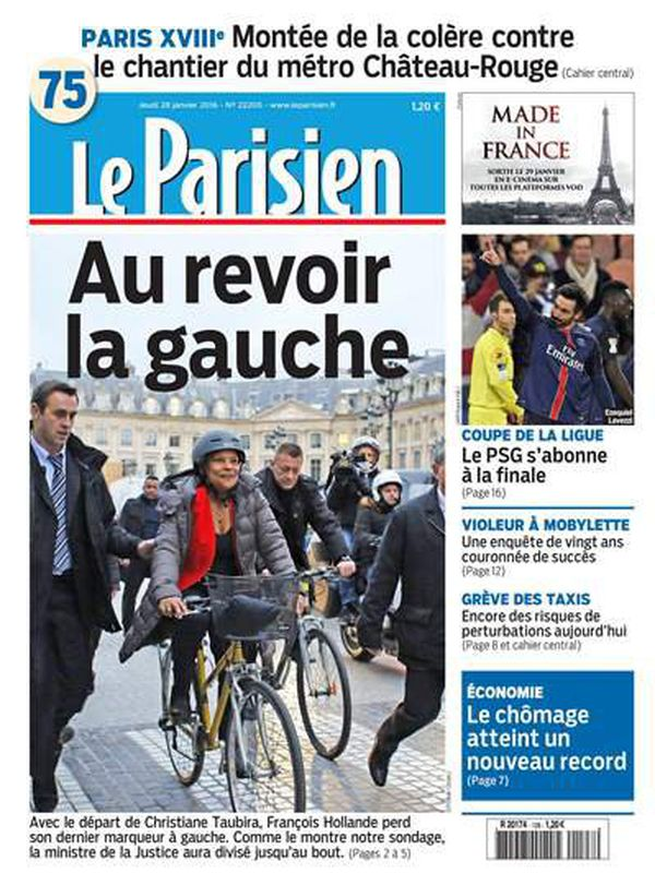 Taubira Le Parisien