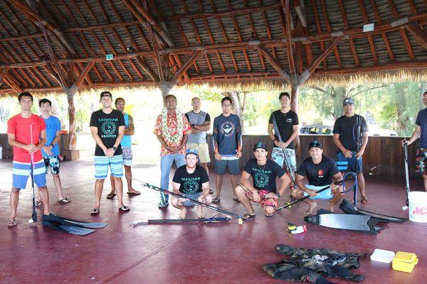 Une formation aux risques liés à la pratique de la pêche sous-marine à Papeari