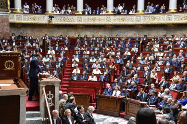 Première séance de question à l'Assemblée nationale, le mercredi 5 juillet.
