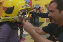 Cette semaine, les pompiers viennent expliquer leurs missions dans les établissements scolaires.