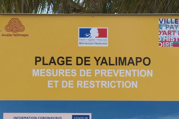 Interdiction de la plage de Yalimapo