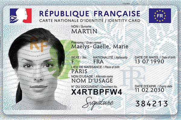 Carte d'identité nationale