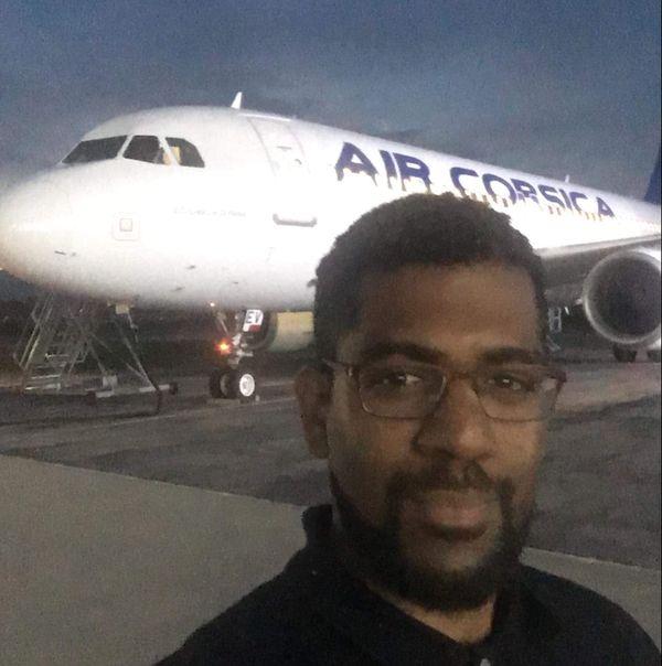 Patrick a notamment effectué un stage à Air Corsica