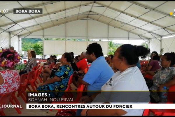 Bora Bora  face aux problèmes du foncier