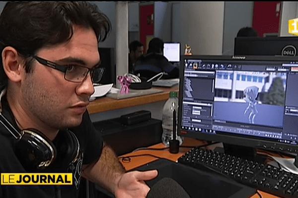 Rentrée des étudiants en arts du numérique