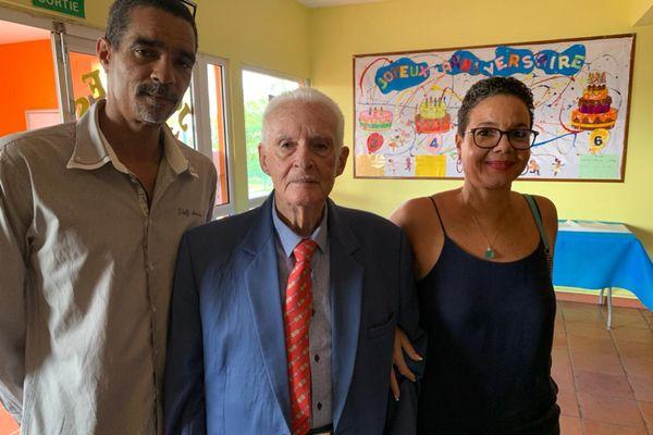 Renaud de Grandmaison et ses enfants
