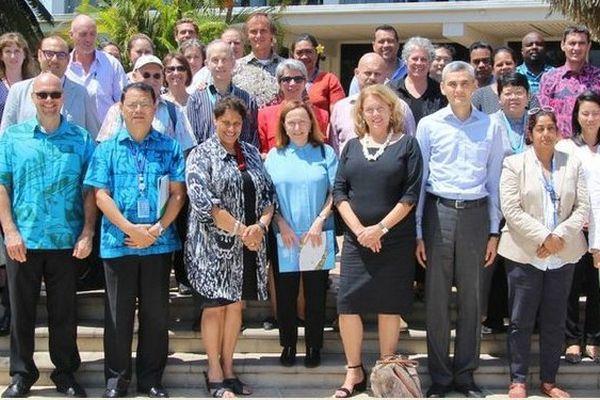 Rencontre entre la CPS et l'ONU à Fidji