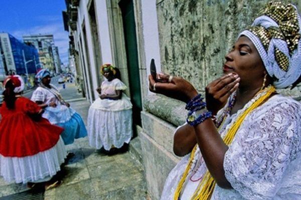 Femmes à Salvador de Bahia