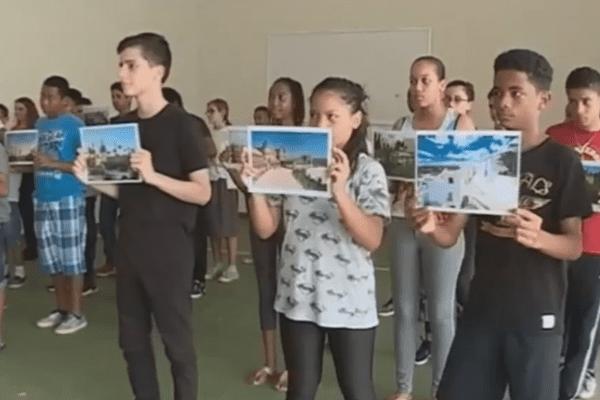 Les collégiens préparent leur voyage en Espagne