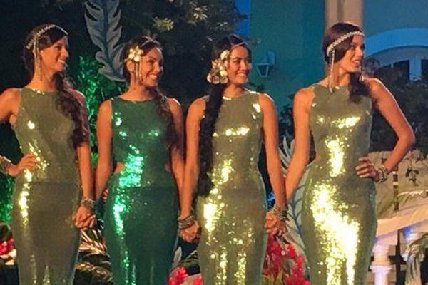Les 4 finalistes de Miss Tahiti 2016