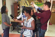 Line Létard en conférence de presse