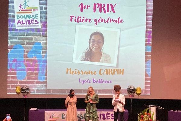 Maïssane Crapin bourse Alizés 1er prix générale