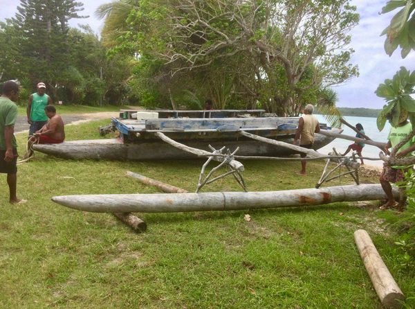 cyclone GITA ile des pins