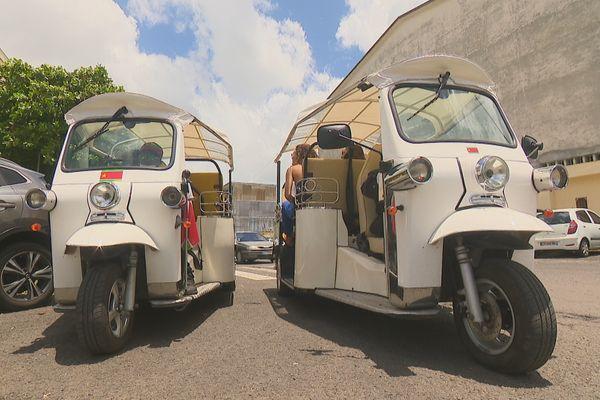 Des tuktuk sur les traces de l'Histoire des luttes Guadeloupéennes - août 2021