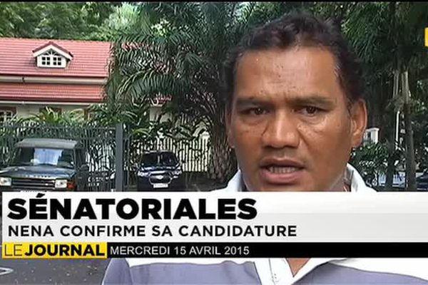 Sénatoriales : Tauhiti Nena entre en dissidence