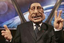 La marionnette de Jacques Chirac dans l'émission les Guignols de l'info sur Canal+.