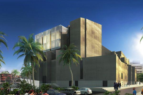 Le futur Centre des arts et de la Culture